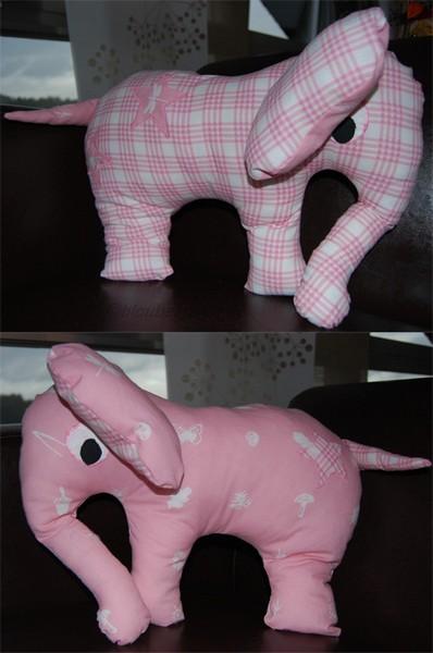 Elefant rosa